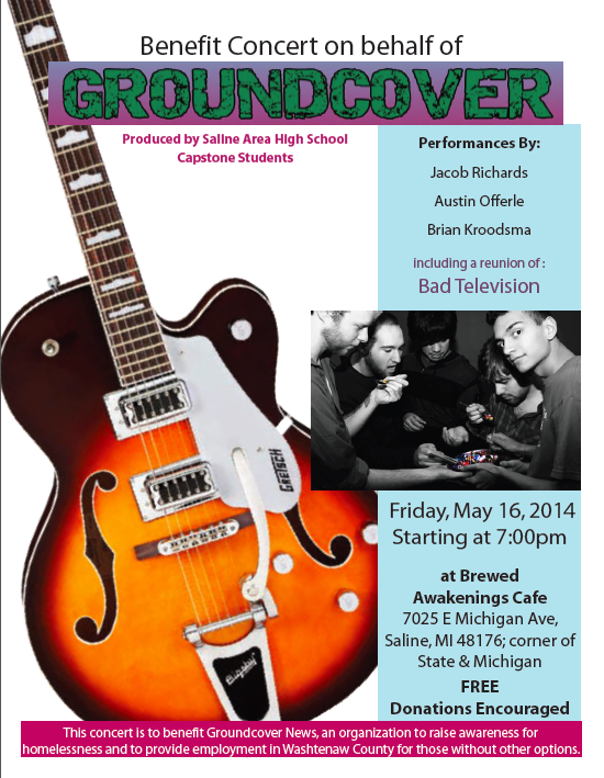 Groundcover Benefit Concert in Saline